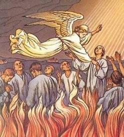 Las animas del purgatorio